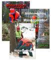 Paket Motorsågsbok och Studiehandledning och kompendiet om Uthålligt skogsbruk för motorsågskörkort