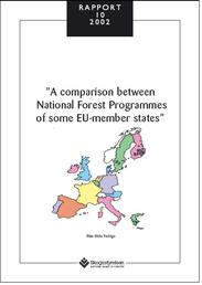 A comparison between National Forest programmes of som EU-member states