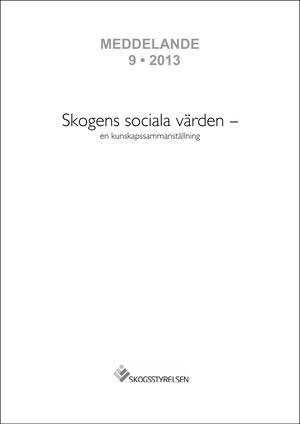 Skogens sociala värden - en kunskapssammanställning
